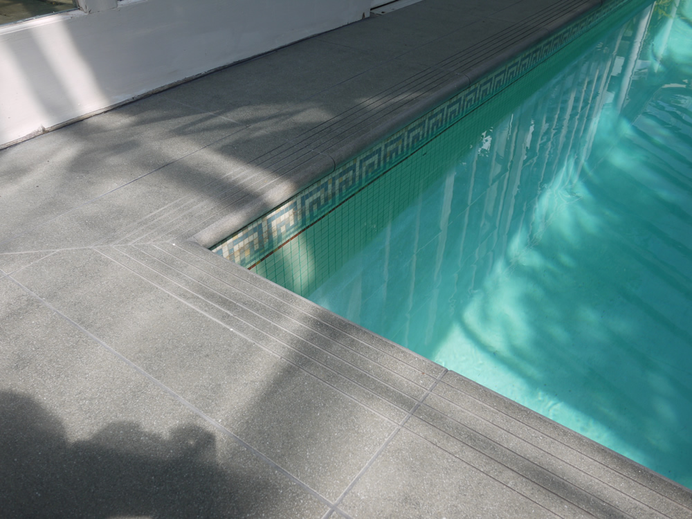 Steps & risers, coping, & swimming pools
