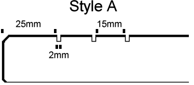 11 Open_UN-filled anti-slip lines Style A cad style v3