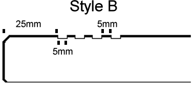 11 Open_UN-filled anti-slip lines Style B cad style v1