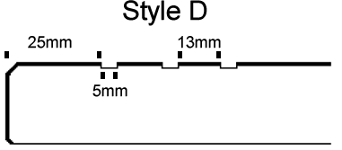 11 Open_UN-filled anti-slip lines Style D cad style v1