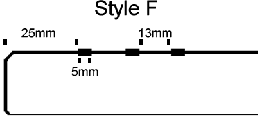 Lines filled with GRP anti-slip style F v2